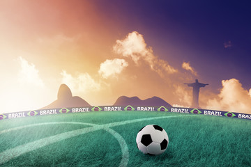 Brazil World Cup sunset