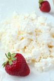 cottage cheese and strawberries