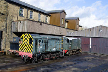 Diesel Shunters of times gone by