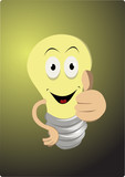 funny light bulb