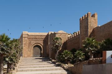 Крепость - Касба Удайя ( قصبة الوداية). Рабат. Марокко