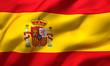 Obrazy na płótnie, fototapety, zdjęcia, fotoobrazy drukowane : flag of Spain