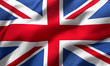 Leinwanddruck Bild - flag of the United Kingdom