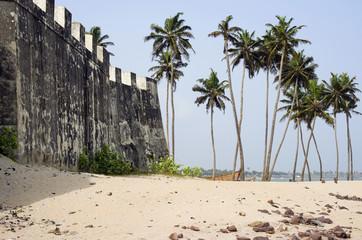 African sea landscape
