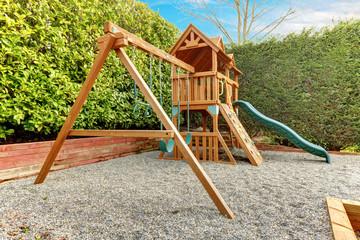 Backyard playground for kids
