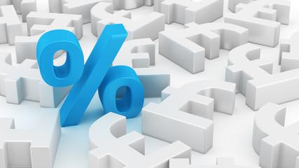 Big percent of pounds