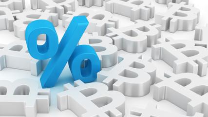 Big percent of bitcoins