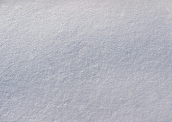 Natural winter background - white snow