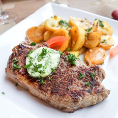 juicy steak beef meat