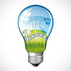 Eco Planet Bulb