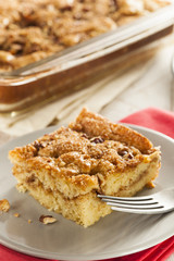 Homemade Coffee Cake with Cinnamon