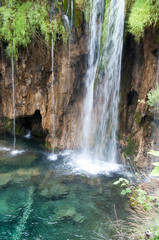 Waterfall, Plitvice Lakes National Park, Croatia