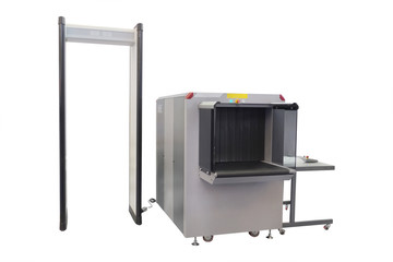 conveyor belt and metal detector