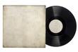 Leinwanddruck Bild - Vinyl Long Play Record