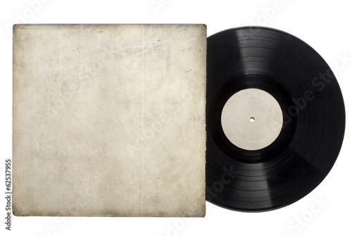 Leinwanddruck Bild Vinyl Long Play Record