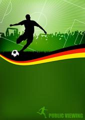 Fußball Flyer