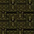 Постер, плакат: Patchwork seamless khaki snake skin pattern texture