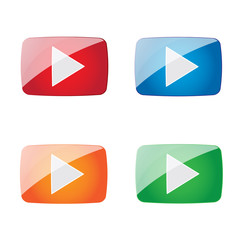 4 play buttons
