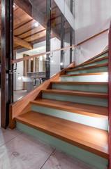 Treppe in Wohnung