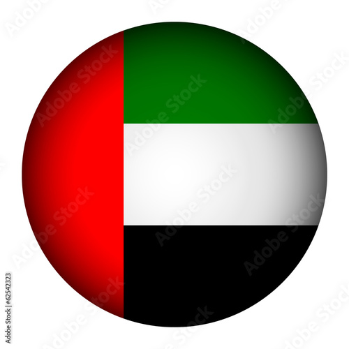 United Arab Emirates flag button
