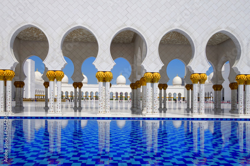 Sheikh Zayed mosque in Abu Dhabi, United Arab Emirates, Middle E
