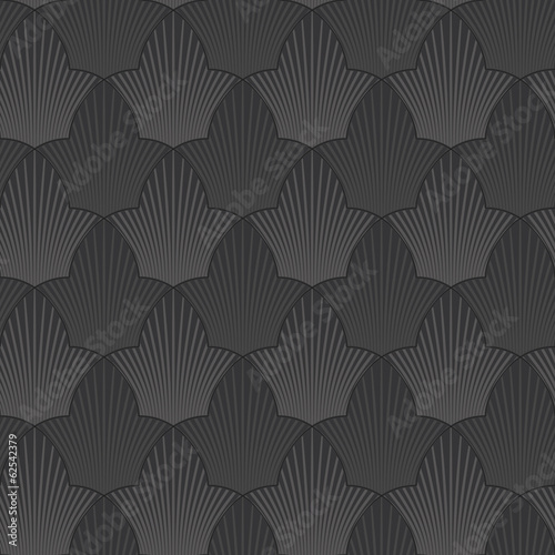 seamless abstract black flower background