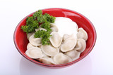 Boiled meat dumplings