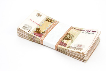 Десять тысяч по сто рублей