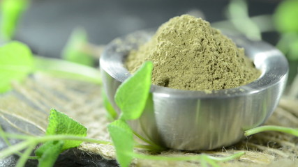 Heap of Sage Powder (loopable)