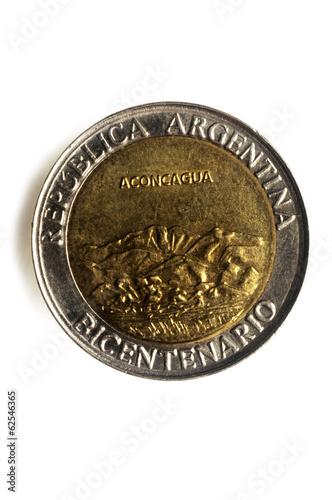 Poster Peso argentino Argentina money 阿根廷比索 بيزو أرجنتيني
