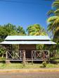 architecture sheet metal roof Big Corn Island Nicaragua