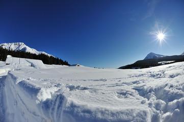 Alpi Dolomiti, Trentino  Alto Adige , sole e neve
