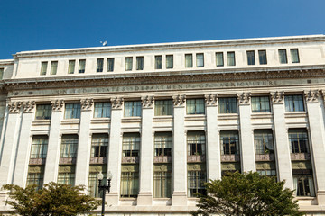 Department of Agriculture building in Washington, DC