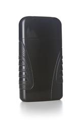 Black tube bottle of shampoo, conditioner, hair rinse, gel,