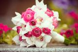 Fototapety wedding flowers bouquet of bride