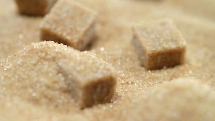 Rotating Brown Sugar (background video)