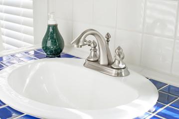 Sunny Bathroom Sink