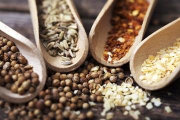 Dry Spices Closeup