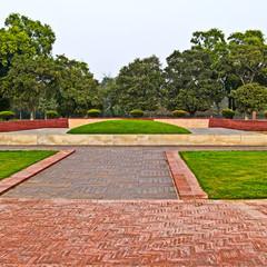 New Delhi.Shanti Van memorial