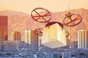 Drone Over Las Vegas