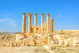 The Temple of Artemis is a Roman temple in Jerash, Jordan