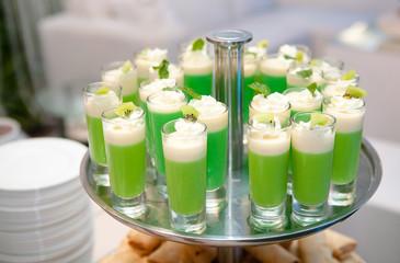 Shot Glass Green Layout