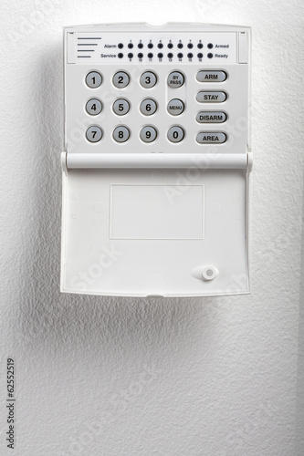 Security System Keypad