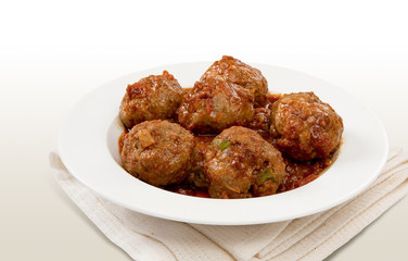 Traditional South African Meatball Chutney