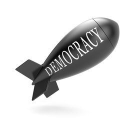 Bomb with democracy