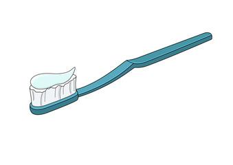 Toothbrush blue