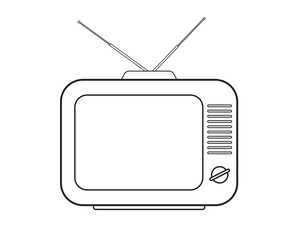 TV set drawing