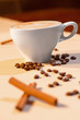 Image of tasty cup of coffe