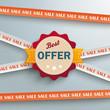 Sale Sticker Lines