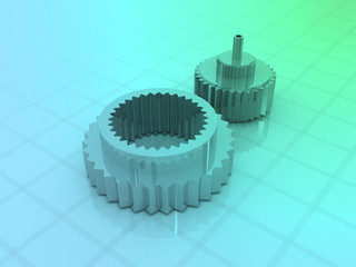 automobile engine gears..
